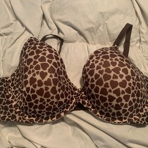 VICTORIA SECERT WOMEN'S BROWN NAKED LINED PERFECT